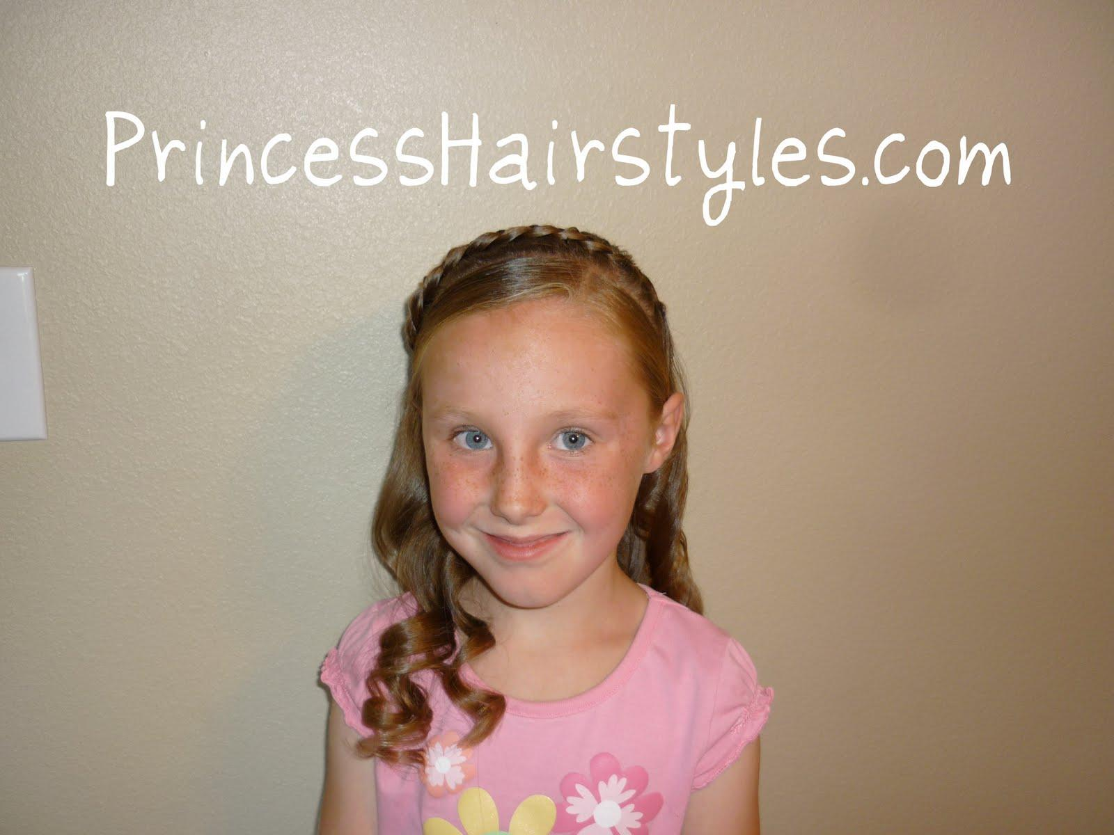 Cute Hairstyles For Little Girls Picture Day