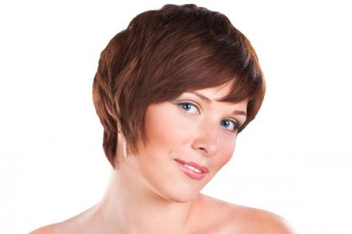 Cute Short Haircuts For Round Face Shapes
