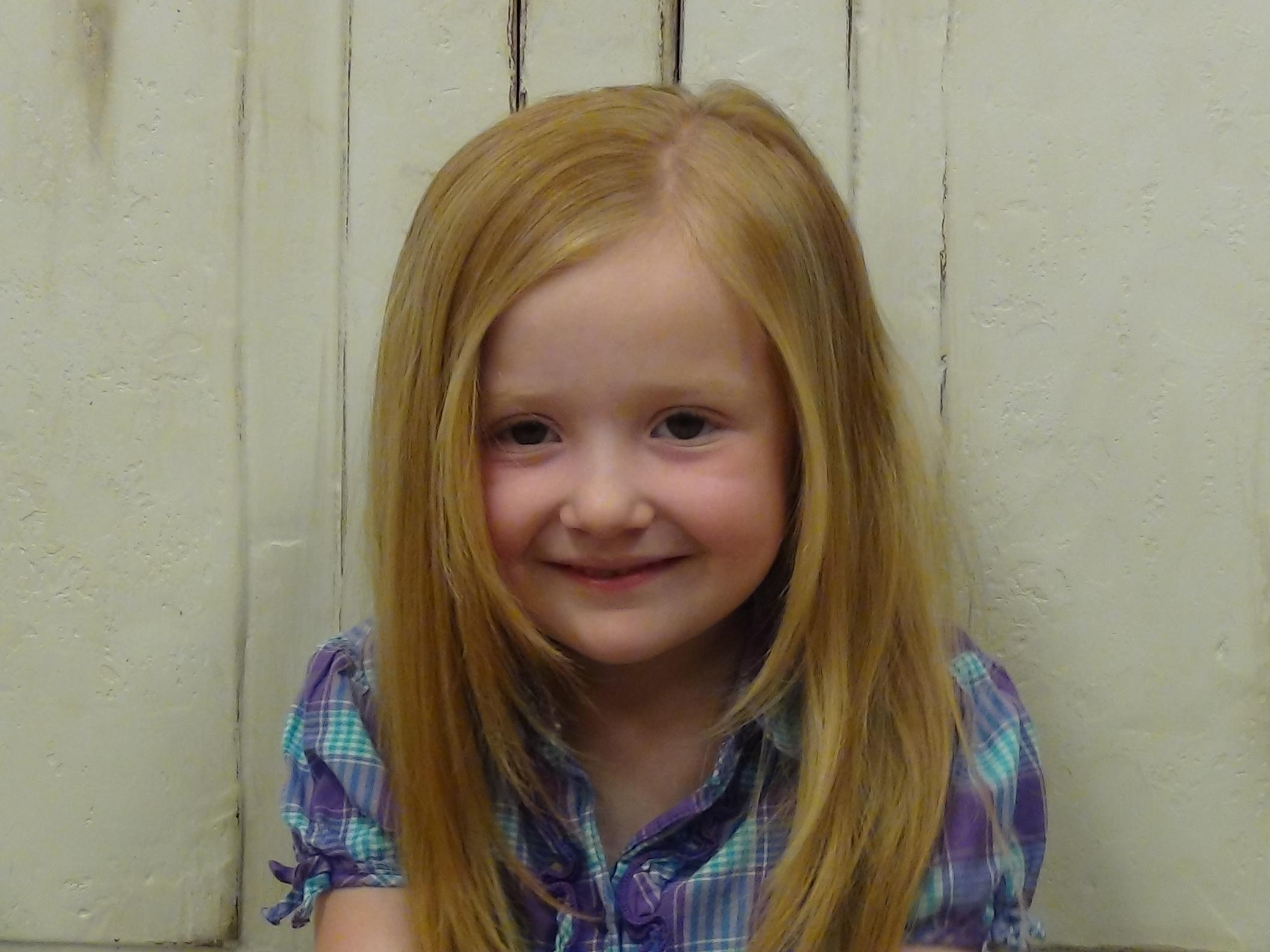 Cute Simple Little Girls Long Hairstyle More