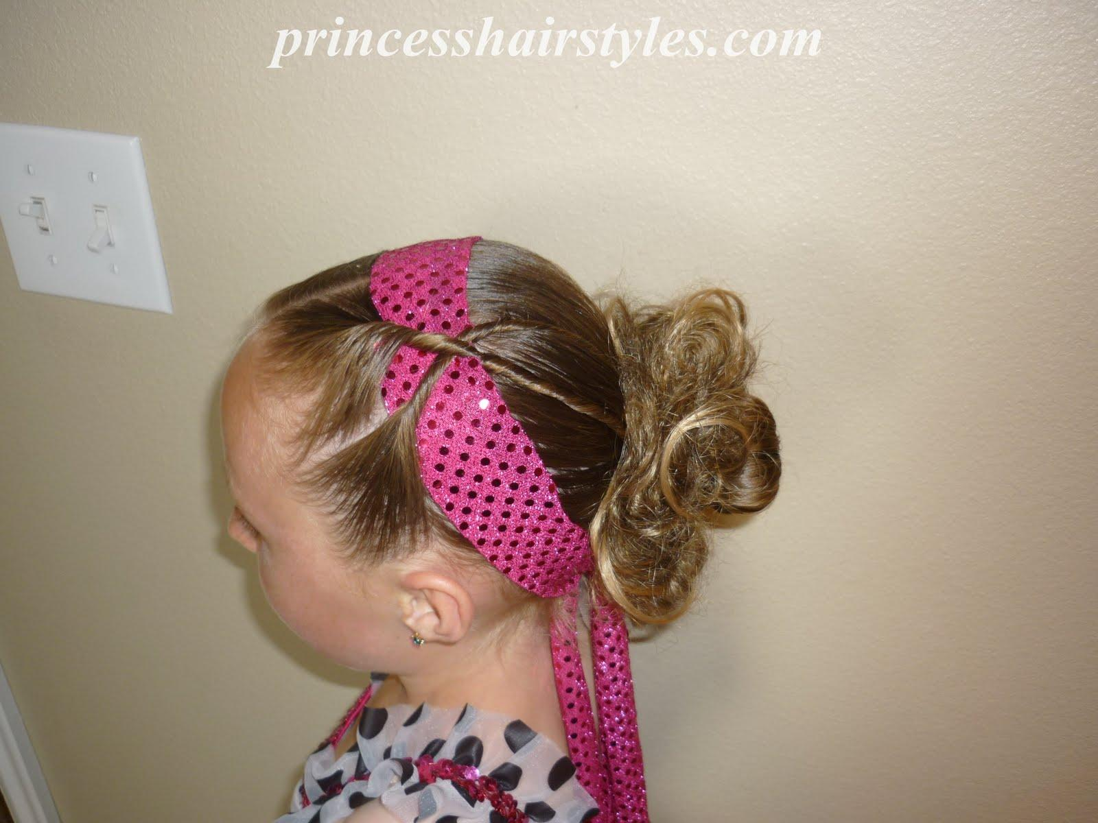 Dance Performance Hairstyles For Girls
