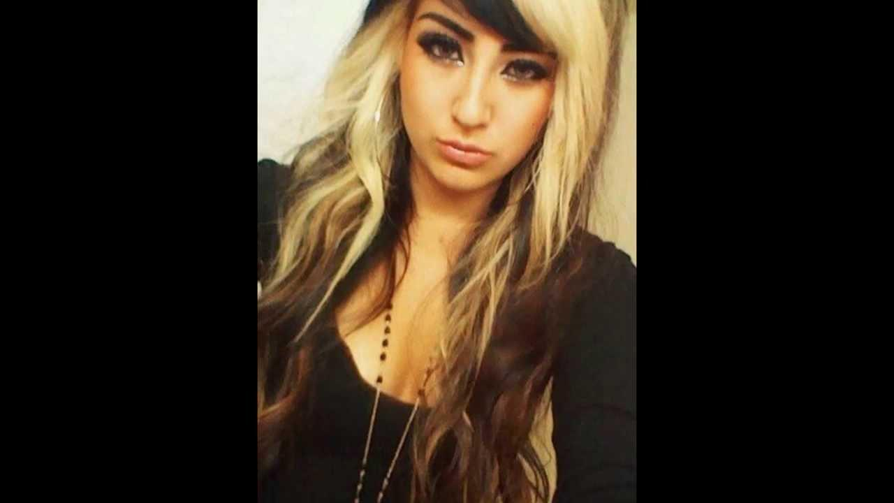 Dark Brown Hair Blonde Highlights Awesome Hairstyle Idea