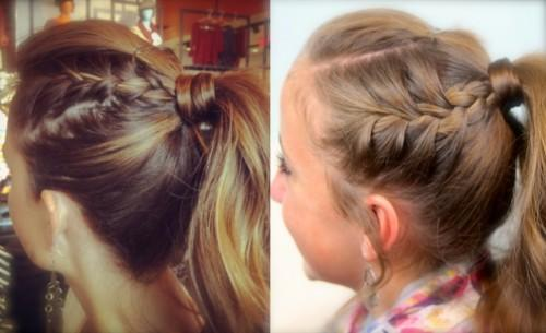 Day She Had Used High Twisty Bun Removed