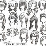 Different Anime Hairstyles