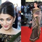 Different Hairstyles Try Sarees