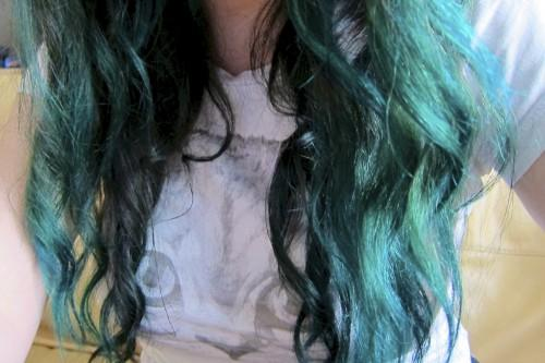 Dip Dyed Hair Update Bleached Coloured