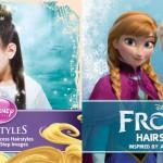 Disney Princess Frozen Hairstyles