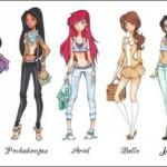 Disney Princess Princesses High School