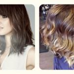 Easy Brown Ombre Color Short Hair Styles