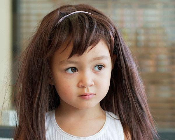 Easy Cute Fringe Hairstyle For Long Hair
