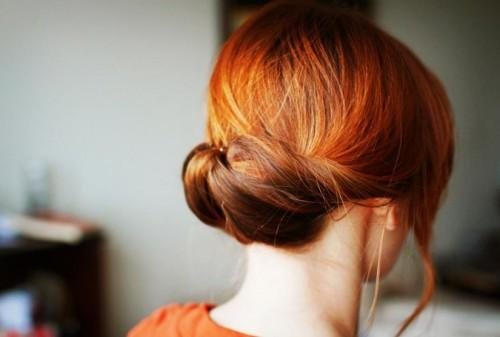 Easy Gibson Tuck Updo Pretty Minute Hairstyle For Women