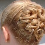 Easy Updo For Short Hair That Will Very Well Formal