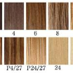 Extension Hair Color Chart