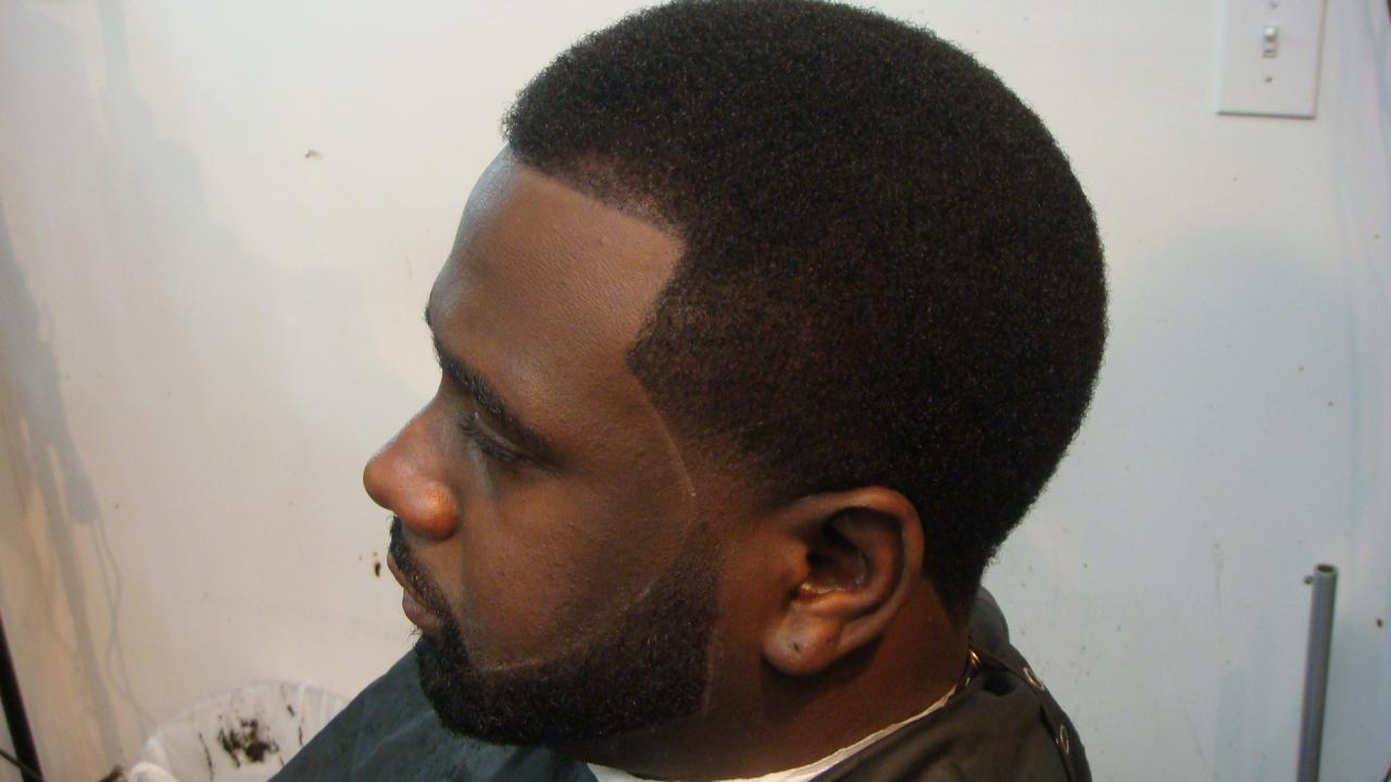 Fade Haircut Designs For Black Men