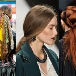 Fall Winter Hairstyle Trend Classic French Twist