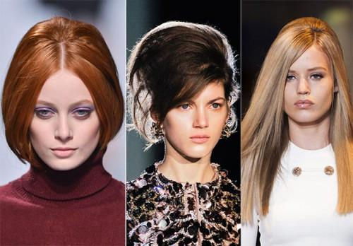 Fall Winter Hairstyle Trends Voluminous Hair