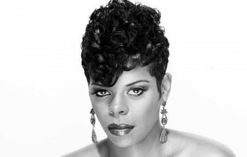 Fantastic Short Curly Mohawk Hairstyles For Black Women