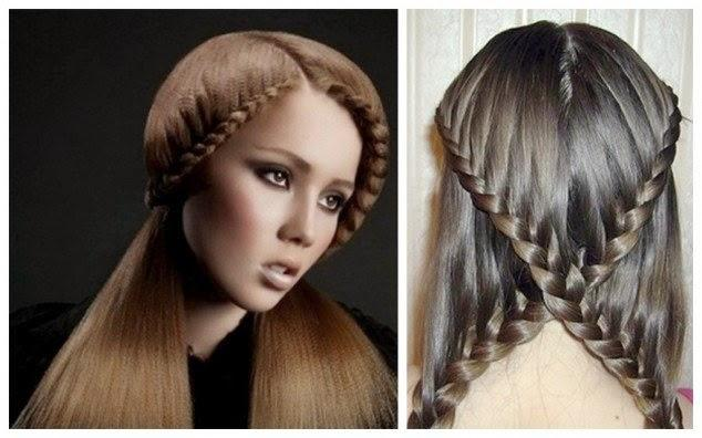 Fashionable Stylish Christmas Party Hairstyle For Teen Girls