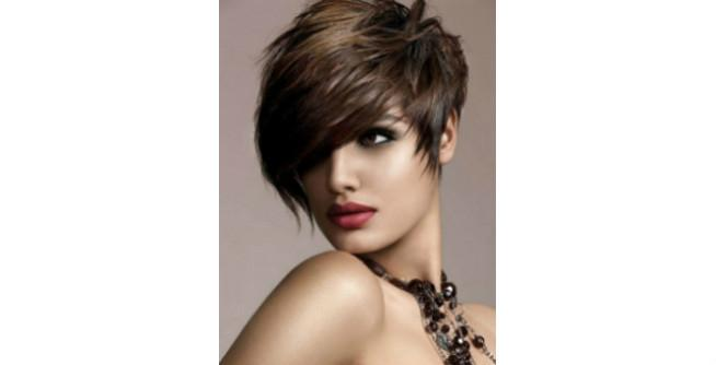 Finally Here Super Hot Pixie Haircut That Features Long Bangs