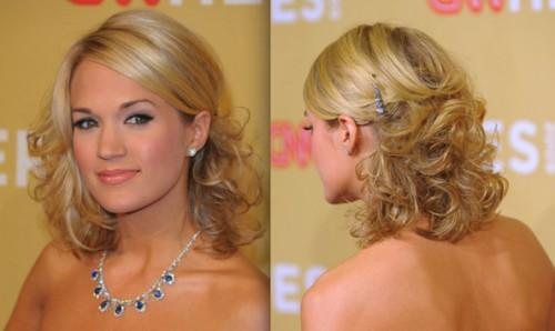 Find That Perfect Hairstyle For Prom You Have Medium Length