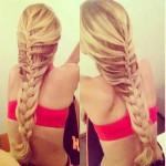 French Braid Hairstyle You Can Make This Angelic Casual