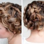 French Braid Used Reverse Dutch