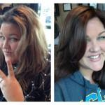From Light Dark Hair Before After