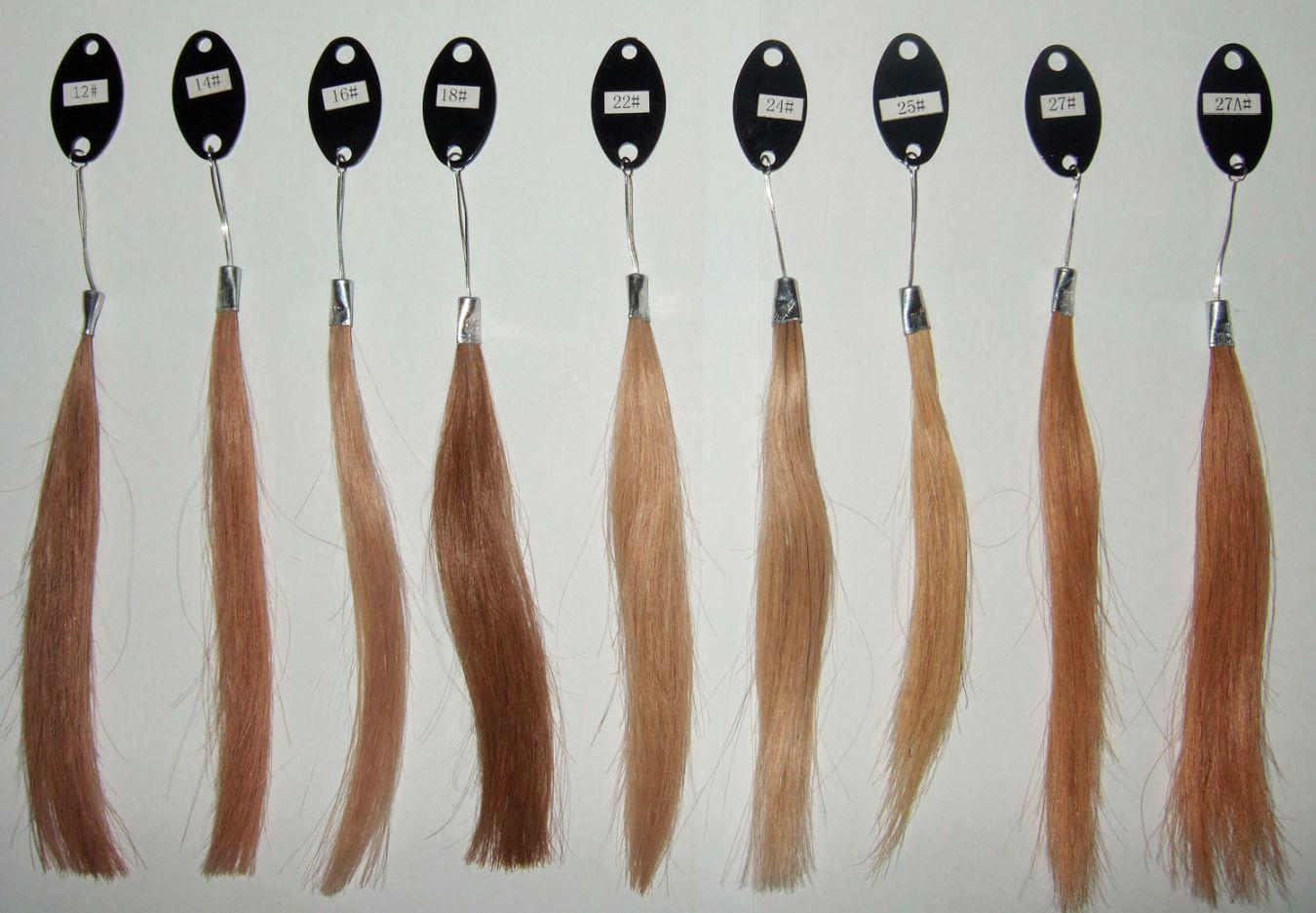 Full Lace Wigs Hair Color Chart Notice