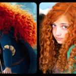 Get Merida Fiery Curly Red Hair Disney Princess Hairstyles