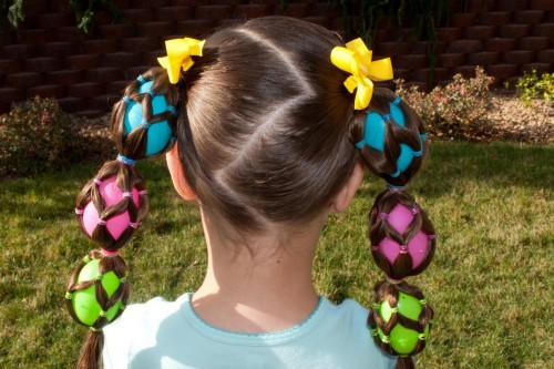 Girls Easter Hairstyles For Parties