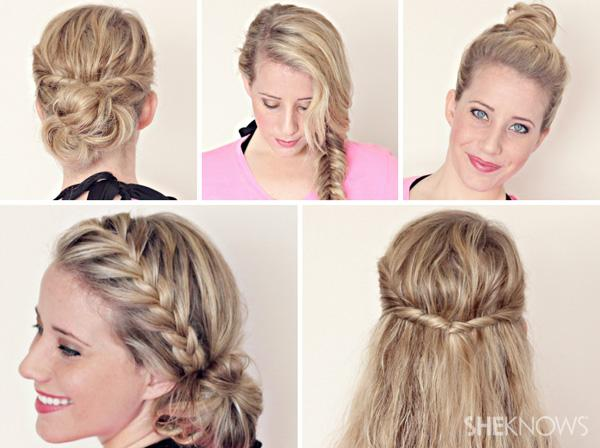 Girls Hair Cute Long Fast Easy Hairstyles For Quick