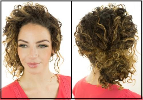 Good Friend Tori Agreed Curly Hair Model This Tutorial