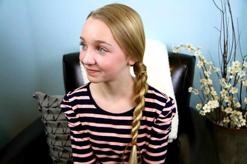 Good Ideas Hair Wrapped Rope Braid Easy Hairstyles
