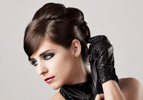 Graceful Updo Hairstyle