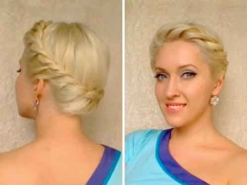 Greek Goddess Updo Hairstyles Post Image