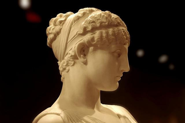 Greek Hairstyles Displaying Technological Advancement