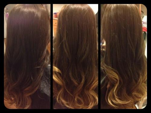 Hair Beautiful Medium Brown Color Caramel Ombre