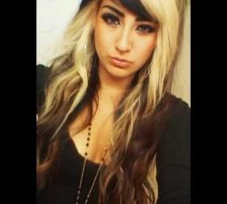 Hair Blonde Highlights Awesome Hairstyle Idea Black