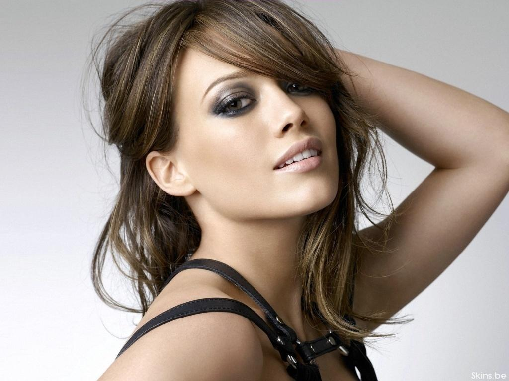 Hair Color Brunette Hilary Duff