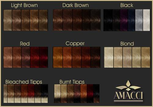 Hair Color Chart Rainbow Tones Possibilities Your