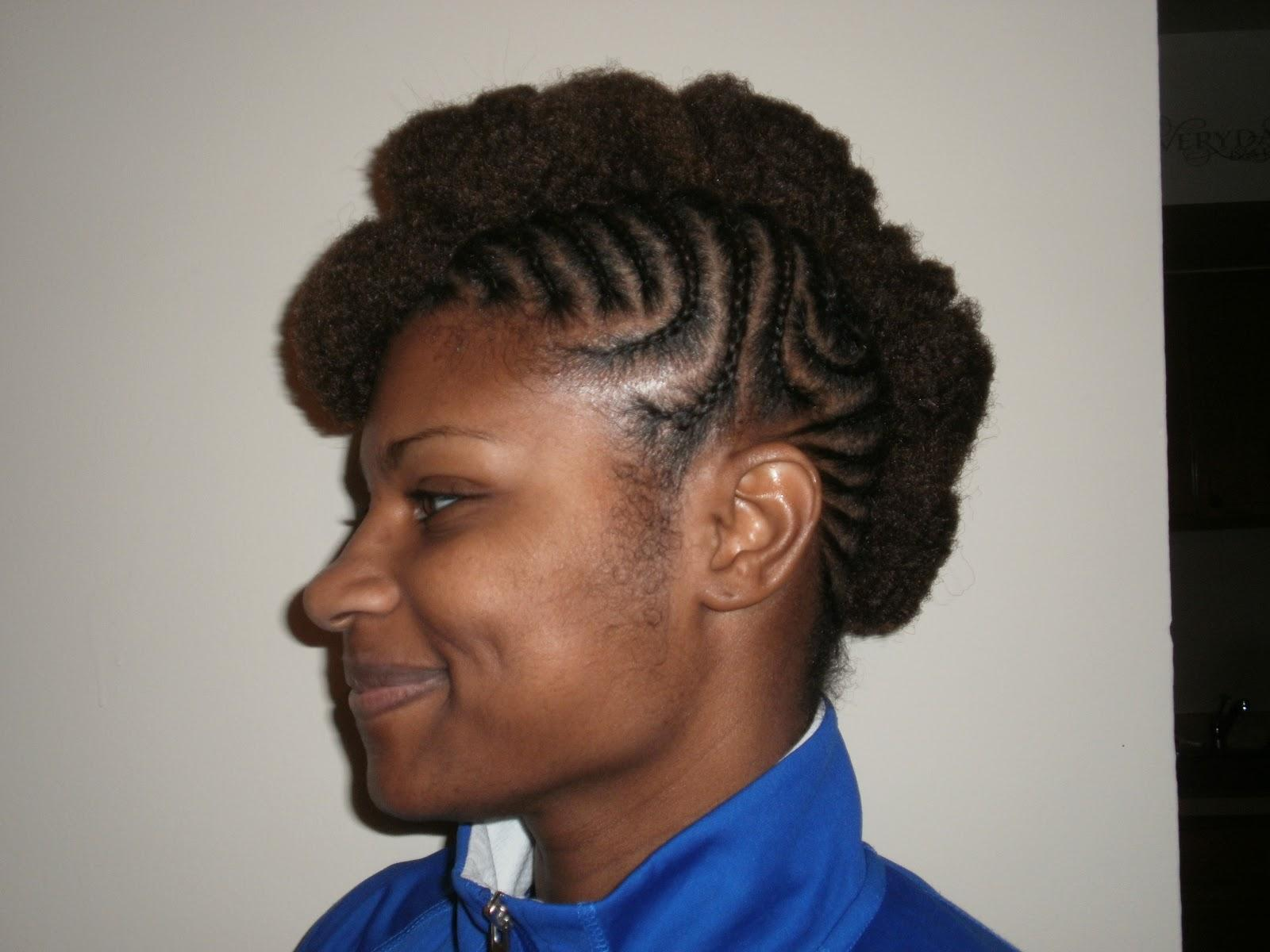 Hair Essentials Mohawk Braids Styling