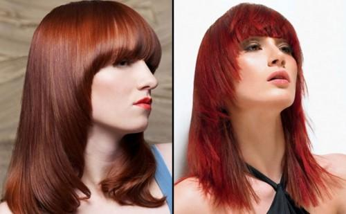 Hair For Women Red Color Long Haircuts Nice