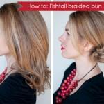 Hair Romance How Fishtail Braided Bun Hairstyle