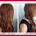 Hair Styles Quick Easy Double Braid Fishtail Keeping