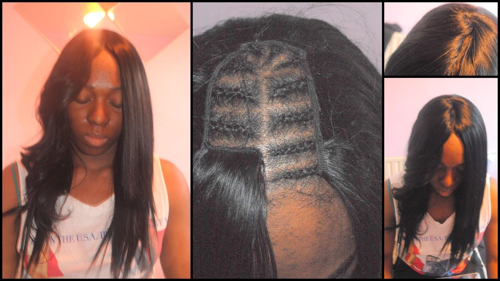 Hairby Tolani Invisible Parting Sewin Glueless Remi Hair