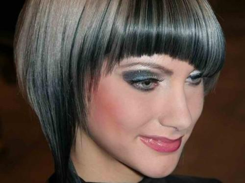 Hairline Making Gorgeous Combination Silver Gray Blonde