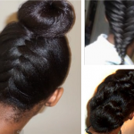 Hairstyle Ideas For Long Relaxed Hair Flat Ironed Natural