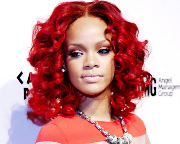 Hairstyle Rihanna Hairstyles Which Look Red