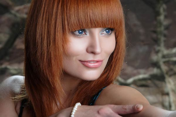 Hairstyle Trends Shades Red Hair