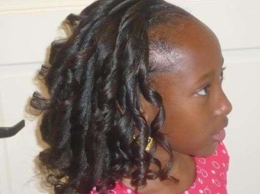 Hairstyles For African Americans Little Girls Pictures