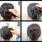 Hairstyles For Long Hair Easy Updos Step